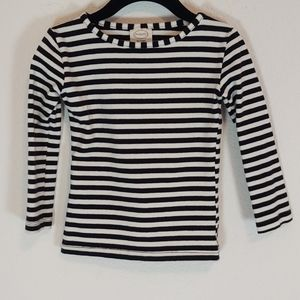 Persnickety 3T T-Shirt Long Sleeve Black Tee